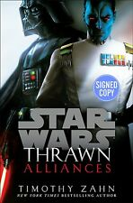 *SIGNED/AUTOGRAPHED* Star Wars: Thrawn: Alliances by Timothy Zahn HC -BRAND NEW!