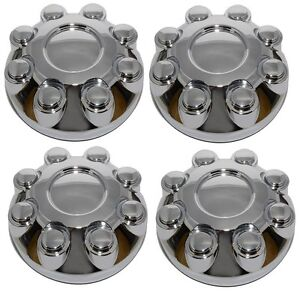NEW Chrome Wheel Hub Center Cap SET for 2003-2013 Dodge RAM 1500 2500 3500 Truck