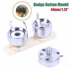 "44mm 1.73"" Badge Pin Making Mould Button Maker Punch Press Machine Metal DIY"