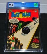 Batman 83 CGC 2.5 Off-White Pages 1954 DC Comics