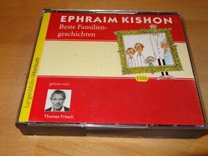 Hörbuch  EPHRAIM KISHON  Beste Familiengeschichten  3 CD´s  @LOOK@
