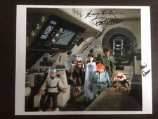 Star Fleet Cast and Crew Genuine Signed 10 x 8 Photo Gerry Anderson Brian May