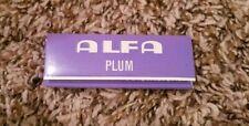 Vintage 1960s ALFA Plum Cigarette Rolling Paper RARE!