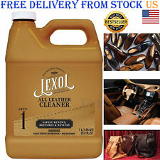 Leather Cleaner Best Cleaning and Conditioner Car Care Interior Shoes Bags 1Lite