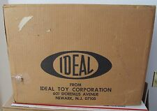 Vintage 1976 Ideal Evel Knievel Super Jet Cycle Shipping Box Rare Warehouse Find