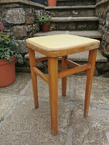 Vintage 1950s Kitchen Stool