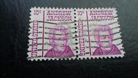 USA, Stamp, 1967, Mi-Nr: 1286, Andrew Jackson, gestempelt