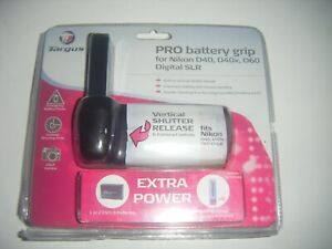 Targus Digital SLR TG-BGD40 Battery Grip for Nikon D40/D40x/D60 Extra Power