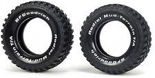 Tamiya 9805481 1/10 RC Truck TA02T/CC01 Pajero Radial Mud-Terrain Tires (2Pcs)