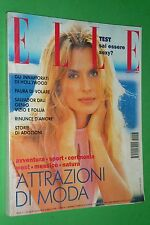 ELLE ITALY MARZO 1994 NASTASSJA KINSKI SALVADOR DALI ANNA PRINA ARTURO BRACHETTI