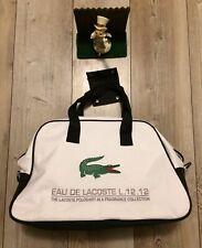 Lacoste Duffle Bag Weekender Gym Travel Sports Perfume Tote Shoulder Alligator