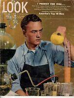 1946 LOOK January 8-J Edgar Hoover predicts new gangster era; Stan Kenton; Gable
