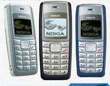 Nokia 1110i GSM Unlocked Mobile Phone Black Blue & White FULL KIT