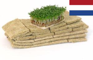 100% HEMP Growing Mat Pad Medium Microgreen Natural Untreated Fibers