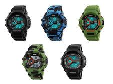 Reloj de Pulsera Skmei Alarma Deportivo LED Digital al aire libre para hombre resistente a los golpes 12/24hr