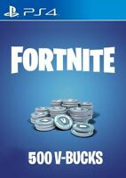 (PS4) Fortnite 500 V-Bucks (US) [digital game PSN] (Key sent by email)