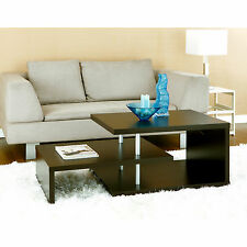 Furniture of America Modern Brown Multi Leveled Accent Cocktail Coffee Table
