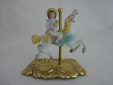 The American Carousel Tobin Fraley Carousel Horse on a Metal Stand 3rd Edition