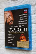 The Tribute to Pavarotti One Amazing Weekend in Petra (Blu-ray), Like new