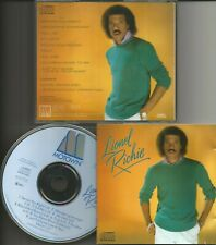 LIONEL RICHIE s/t debut cd original blue face Motown pressing No Barcode 1982