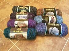 Lion Brand Homespun 5 Bulky Acrylic Blend Yarn Choose Your Color