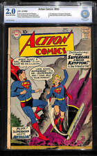 DC Action Comics Superman Golden #252 CBCS cgc 1ST SUPERGIRL APPEARANCE 2.0