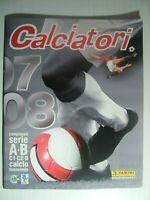 2007  Album Calciatori   Panini  2007-2008   Vuoto