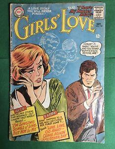 DC National Comics Girls' Love #114 October 1965 Romance Comic Book
