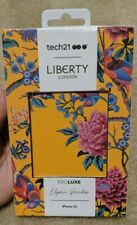 New Tech21 LIBERTY LONDON Apple iPhone XR Evo Luxe Phone Case - Elysian Paradise