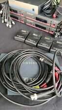 4 x SENNHEISER Wireless EW100 G3 System with Microphones