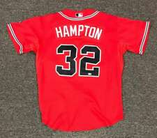 New listing Mike Hampton Atlanta Braves Game Used Jersey 8/21/08 MLB Cert BB766957