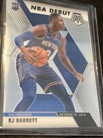 2019-20 Panini Mosaic Basketball NBA Debut RJ Barrett  Prizm. Rookie