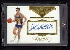 John Stockton Flawless SUPER SIGNATURES Auto #1/25! 1/1? SP! Utah Jazz ON-CARD!