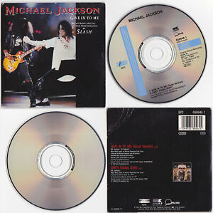 """Michael Jackson GIVE IN TO ME 5"""" 5-inch CD Single 2 titres tracks 1993"""