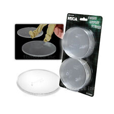 "10 x NECA FIGURE CLEAR STANDS display FOR 6-8"" ACTION FIGURES plastic 3.5"" ROUND"