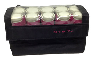 Remington Hot Curlers Heated Rollers Hair Compact Travel Pageants H-1012 Pink