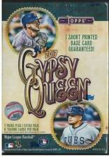 2017 Topps Gypsy Queen Blaster Box Factory Sealed 8 Packs Judge Bregman RC!