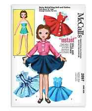 """Betsy McCall s Doll Sewing Pattern 2097 Rag Clothes Dress Plush Soft Stuffed 16"""""""