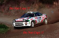 Juha Kankkunen Toyota Celica Turbo 4WD Rally New Zealand 1993 Photograph 1