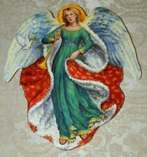A Christmas Delight Edgar Jerins Collectible Angel Plate Seasons of Joy with Coa