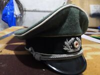Ww2 german army crusher hat white piping all sizes