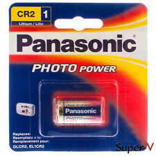 Panasonic CR2 3 Volt Photo Lithium Battery (1 Battery)
