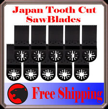 10 Japan Tooth Cut Oscillating MultiTool Saw Blade For Fein Multimaster Bosch