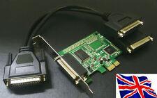 PCI Express PCIe Parallel x2  Card ECP EPP SPP LPT PCI-e   2 Port