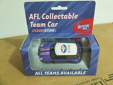 Rare 2004 AFL Football Collectable Club Car WESTERN BULLDOGS  MINI