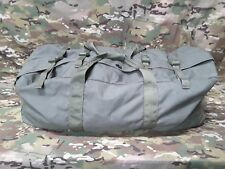 USED US Military Improved Duffle Deployment Bag - OD Green - USA Made - ARMY SF