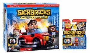 SICK BRICKS JACK JUSTICE TEAM SET EXCLUSIVE PLAYSET AND FIGURES LOT Deathskirt