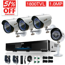 ELEC 8CH 1800TVL 960H HDMI DVR Outdoor CCTV Home Surveillance Security Systems