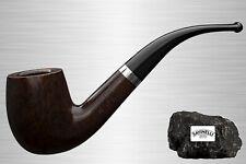 Savinelli Gentleman 606 Bruyere pfeife poliert Bent Classic 9mm Filter