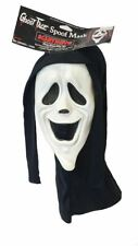 Adults Smiley Face Scream Scary Spoof Movie Licenced Halloween Fancy Dress Mask